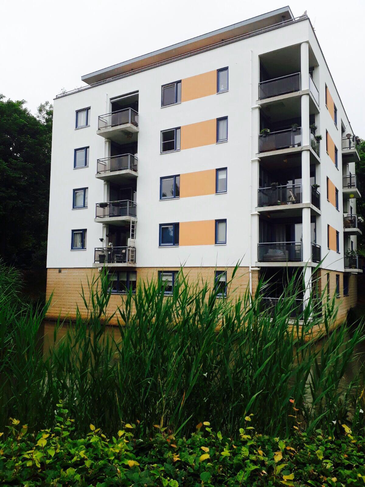 Gevelonderhoud voor appartementen complex