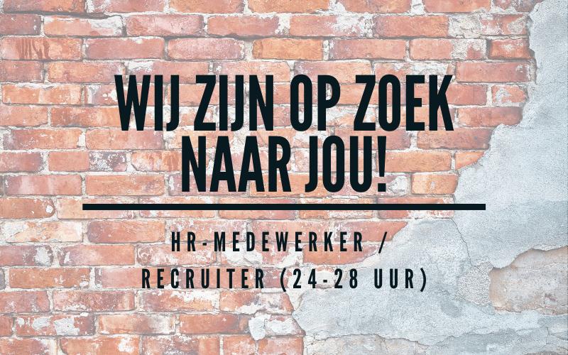 Vacature HR-medewerker / Recruiter (24-28 uur)