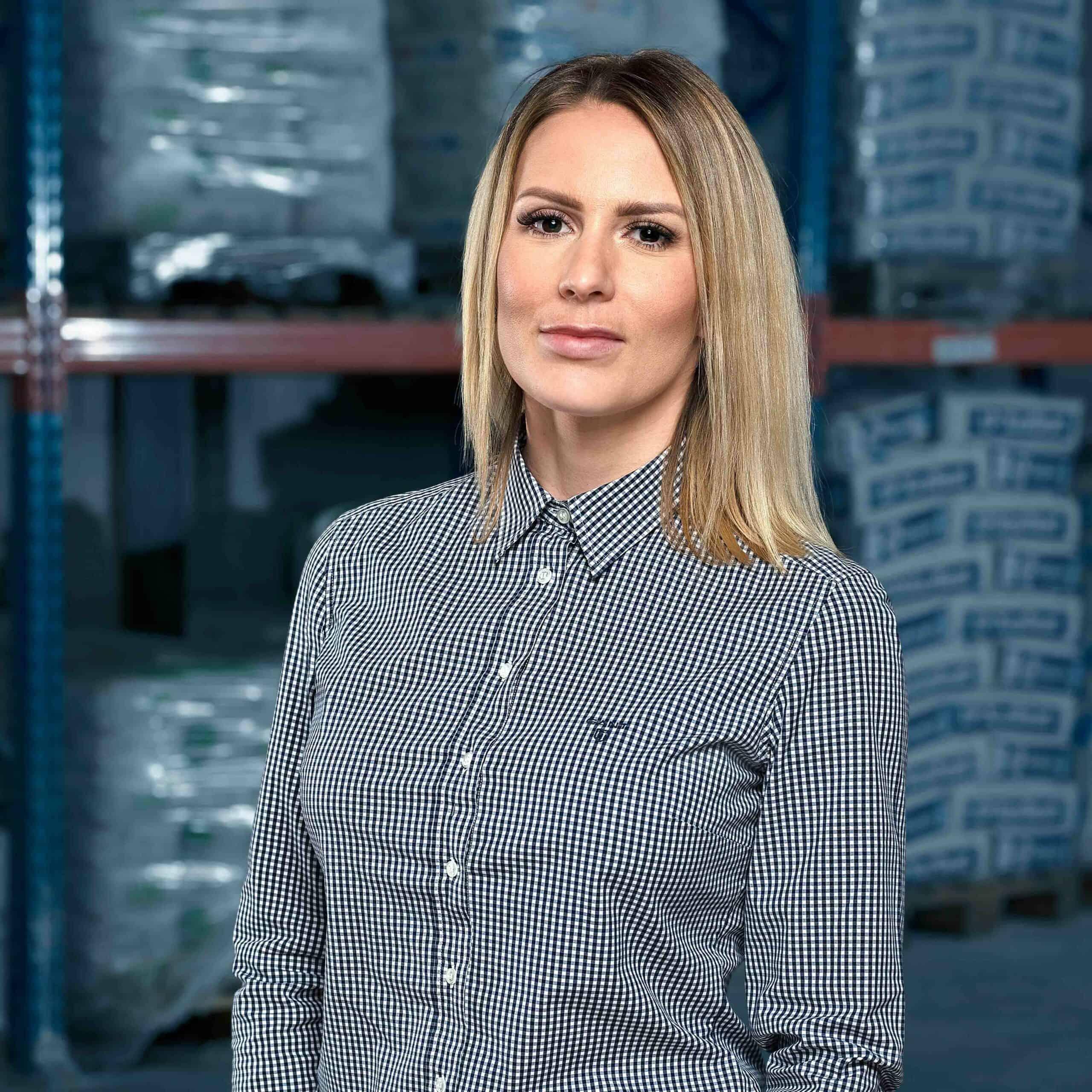Agnieszka Binka, onze nieuwste medewerkster!